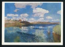 Levitan Lake royalty free stock images