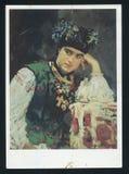Serov Portrait of Sophia Dragomirova Lukomskaya Royalty Free Stock Images