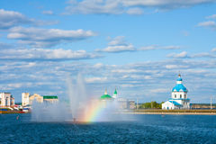 Russia, the city Cheboksary Stock Images