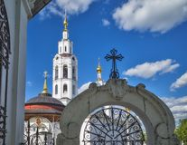Russia. The City Of Eagle. Cathedral of the Epiphany, in the bright daylight