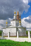 Russia, the city of Orel - Epiphany Cathedral. Royalty Free Stock Image