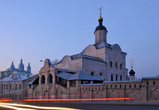 Russia. City of Smolensk. Trinity monastery Stock Images