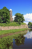 Russia. The city of Vyborg. A fortress Royalty Free Stock Photos