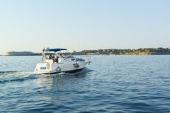 Pleasure boat Stock Photo