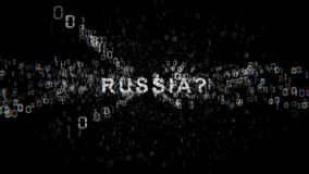 Russia cyberespionage. Internet Security Issues. Russia cyberespionage. Internet Security Issues stock video