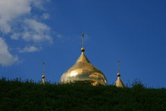 Russia. Dmitrov. Landmark. Travel in Russia. Dmitrov. Cathedral Royalty Free Stock Photography