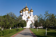 Russia, Dormition Cathedral,Yaroslavl Stock Photography
