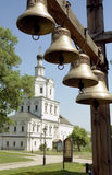 russia för andronnikovmoscow priory spaso Arkivfoto
