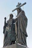 russia för cyril methodiusmoscow region saints royaltyfri bild