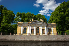 russia för fontankapetersburg rriver st Arkivfoton