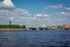 russia för fontankapetersburg rriver st Arkivbilder