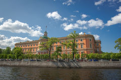 russia för fontankapetersburg rriver st Arkivfoto