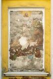 russia för kristen fresco för cchurch gammal vägg royaltyfria bilder