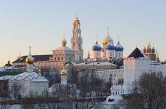 russia för region för lavramoscow posad sergiev Arkivfoto