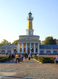 Russia. Fire tower in Kostroma. Stock Images