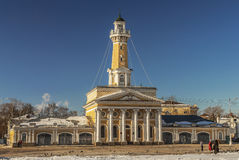 Russia. Fire tower in Kostroma. Royalty Free Stock Images