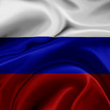 Russia flag Stock Photos