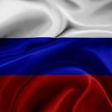 Russia flag Stock Photos