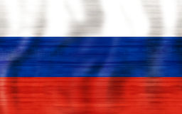 2018 Russia Flag Creative Graphic Design Stock Image