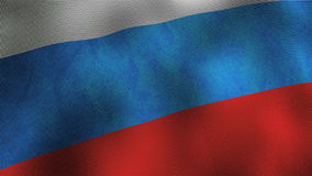 Russia flag Royalty Free Stock Image