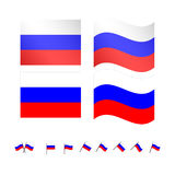 Russia Flag Stock Image