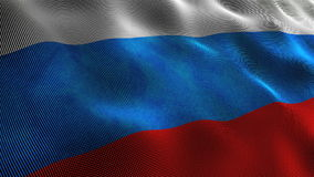 Russia flag Stock Photography