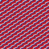 Russia flag seamless pattern. Vector illustration Stock Photos
