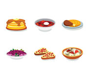 Russia food flat vector icon Stock Image