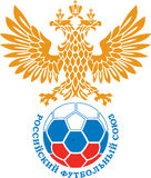 Russia football union logo Royalty Free Stock Images