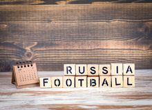 Russia Football 2018 world championship cup, soccer Royalty Free Stock Photography