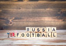 Russia Football 2018 world championship cup, soccer Royalty Free Stock Images