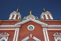 Russia. A fragment the Cathedral of Holy Cross Royalty Free Stock Photography