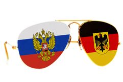 Russia and Germany Royalty Free Stock Images