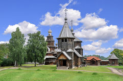 Russia. Gold ring. Suzdal. Church. Stock Photo