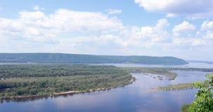 Russia, great river Volga Stock Photo