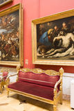 Russia. The Hermitage. Hall of  Italian art of 17-18 centuries. Royalty Free Stock Image