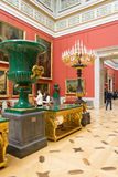 Russia. The Hermitage. Hall of  Italian art of 17-18 centuries. Stock Images