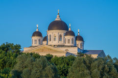 Russia. Holy Resurrection Cathedral Stock Photos