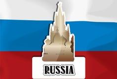 Russia, illustration Royalty Free Stock Photo