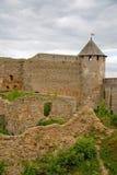 Russia. Ivangorod. Russian fortress of Ivangorod Stock Photo
