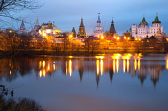 Russia. Izmailovo Kremlin. Royalty Free Stock Images