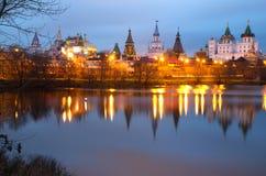 Russia. Izmailovo Kremlin. Royalty Free Stock Images