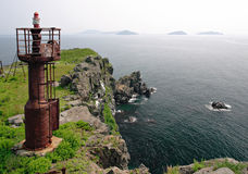 Russia. Japan sea 2 stock photo