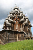 Russia.Kareliya. Onega. Kizhi. stock foto's