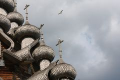 Russia.Kareliya. Onega. Kizhi. Royalty Free Stock Photos