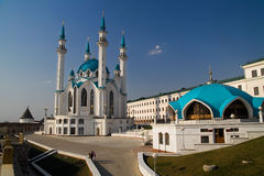 Russia, Kazan, Kul Sharif Mosque Royalty Free Stock Photo