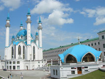 Russia. Kazan. A mosque in the Kazan Kremlin. Royalty Free Stock Photography