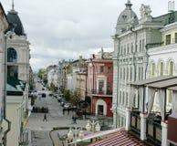 Russia ,Kazan,15 September 2016. Kazan Russia 15 September 2016 ,Musy dzhalilya street,city,old Royalty Free Stock Image
