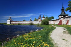 Russia.Kirillo-Belozersky monastery, overview Royalty Free Stock Images
