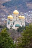 Russia. Kislovodsk. The Piously-Nikolsky temple Stock Photos